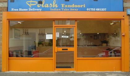 Polash Tandoori. Indian Take Away